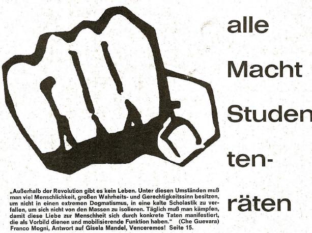 Studentenbewegung Frankfurt