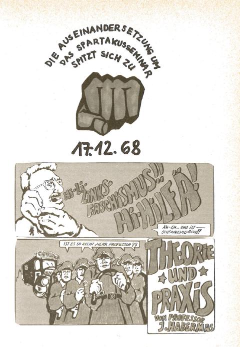 17.12.1968: Auseinandersetzung Spartakus Seminar