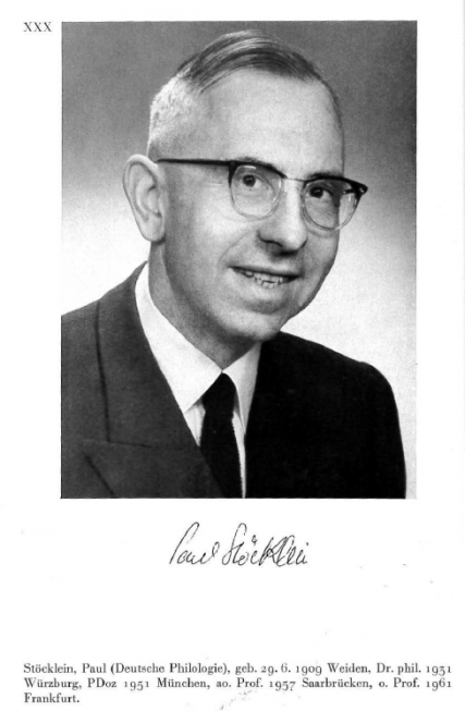 Paul Stöcklein