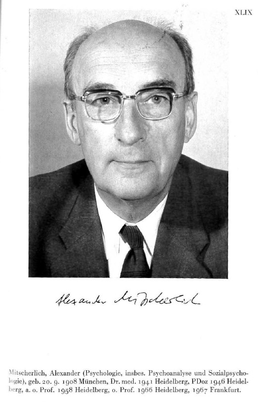 Alexander Mitscherlich Demokratie