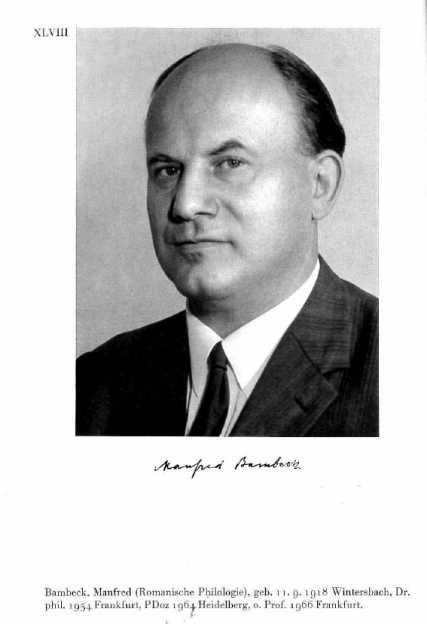 Manfred Bambeck