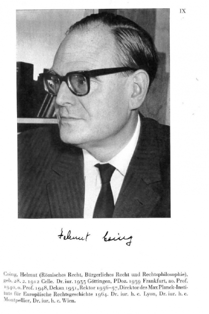Helmut Coing