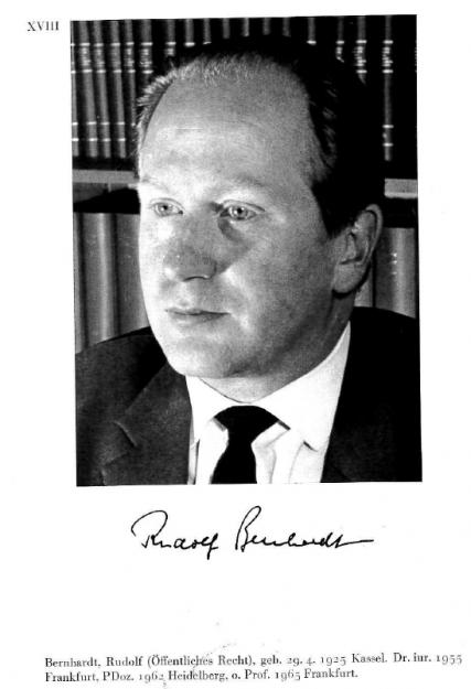 Rudolf Bernhardt