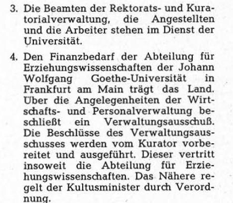Konzil gemäß Hessisches Hochschulgesetz
