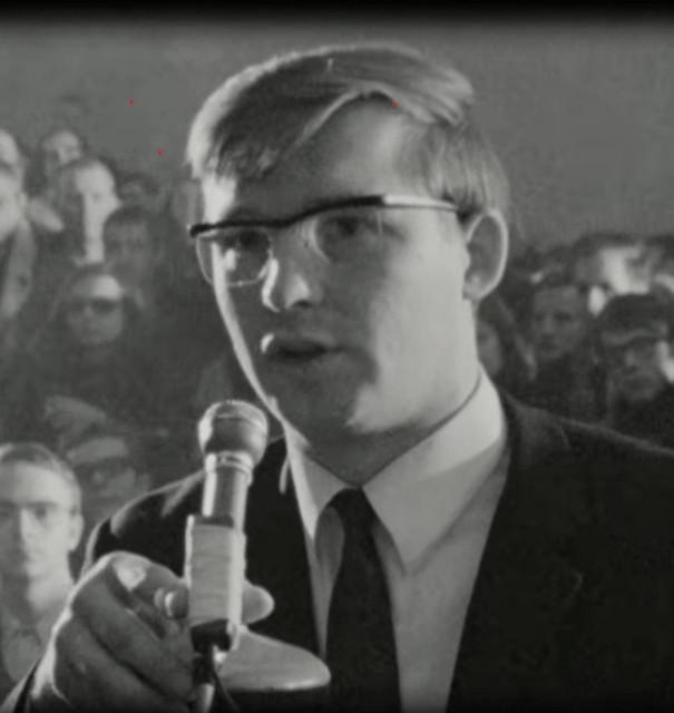 Hans-Jürgen Birkholz auf einem Teach-In