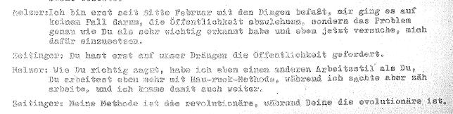 Claus Peter Zeitinger Studentenbewegung